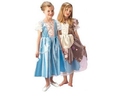 Cinderella obojstranný kostým II  - VADA