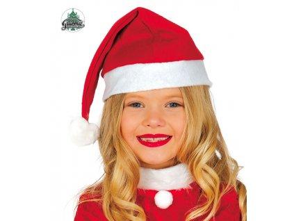Čepička vánoční dětská