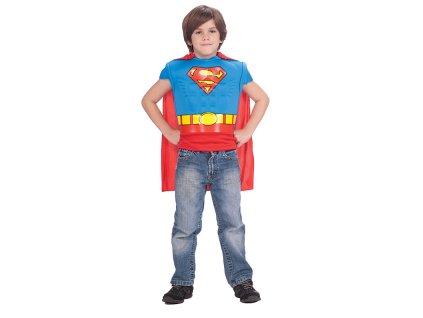 Kostým - Superman Muscle Chest Sh. 5 - 7 roků - licenční kostým D  dětský - chlapecký karnevalový - maškarní kostým