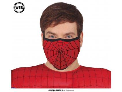 Rouška pavoučí muž