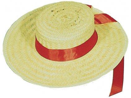 Pánský slaměný klobouk benátský