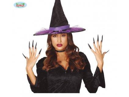 Čarodějnické nehty černé - 10 ks