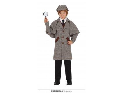 Sherlock Holmes kostým dětský