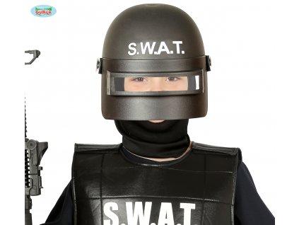 Dětská policejní helma SWAT