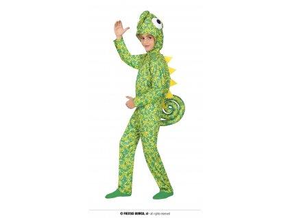 Chameleon dětský kostým