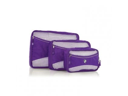 Heys Eco Packing Cube 3pc Set II Purple