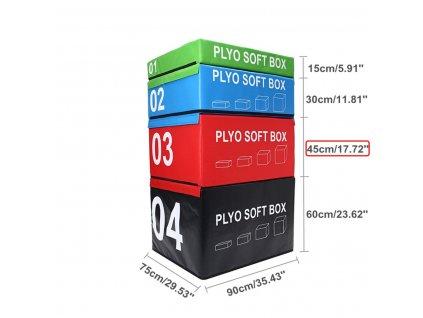 SOFT PLYOBOX SEDCO 90x75x15-60 cm