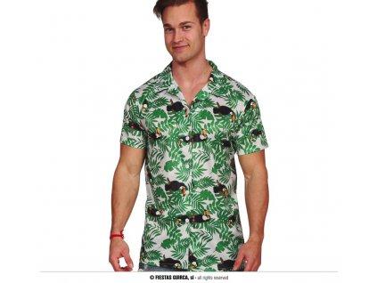 Havajská košile palmy