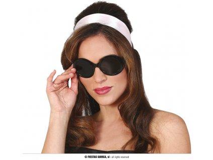 Černé brýle 60-tá léta