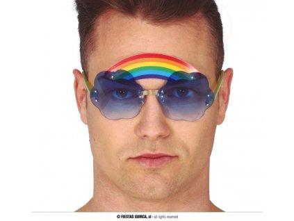 Brýle s duhou