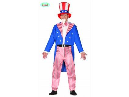 Strýček Sam kostým Amerika