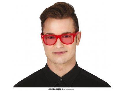 Brýle červené