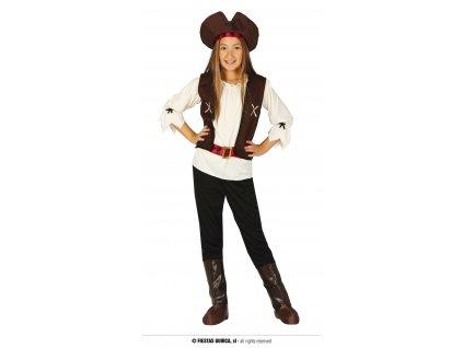 Pirátka sedmi moří dívčí kostým