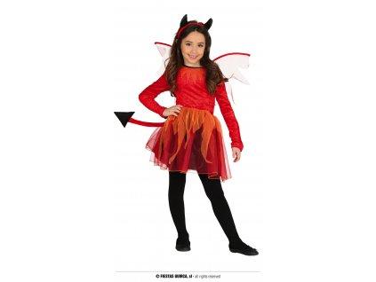 Kostým devil pro holky