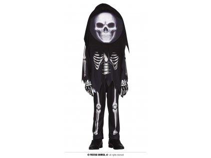 Skeleton kostým dětský