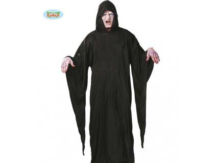 Tunika s kapucí černá  pánský karnevalový kostým