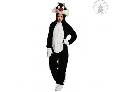 Kocour Sylvester - licence  dámský karnevalový kostým