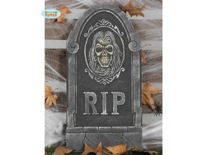 Náhrobní kámen  RIP  dekorace Halloween