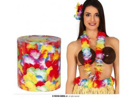 Havajské věnce 25 ks  + textilní rouška ke každé objednávce zdarma