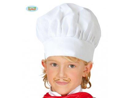 Kuchařská čepice dětská