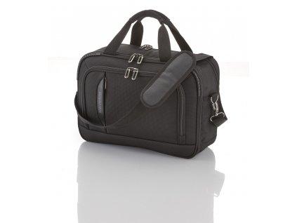 Travelite CrossLITE Board Bag Black  + textilní rouška ke každé objednávce zdarma