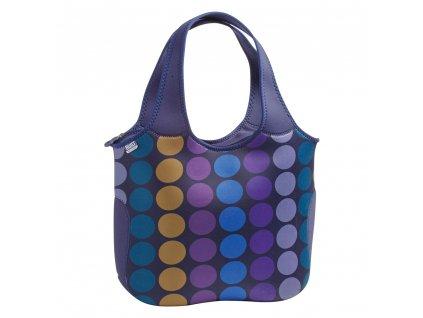 Built Essential Neoprene Tote Plum Dot  praktická neoprénová nákupní - plážová taška + dle vlastního výběru