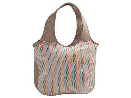 Built Essential Neoprene Tote Candy Dot  praktická neoprénová nákupní - plážová taška + dle vlastního výběru