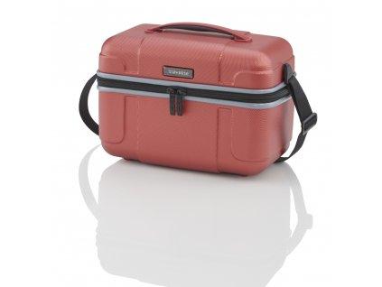 Travelite Vector Beauty case Coral  + textilní rouška ke každé objednávce zdarma