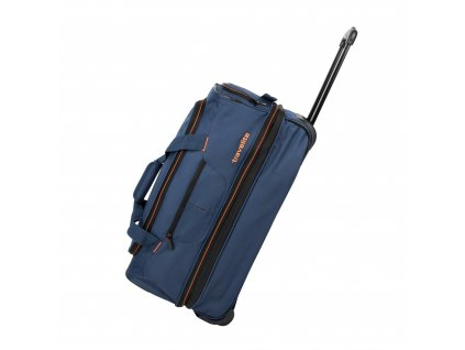 Travelite Basics Wheeled duffle S Navy/orange  + textilní rouška ke každé objednávce zdarma