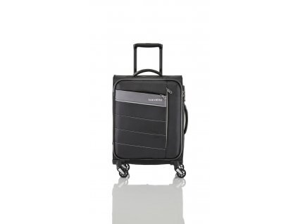 Travelite Kite 4w M Black  + textilní rouška ke každé objednávce zdarma