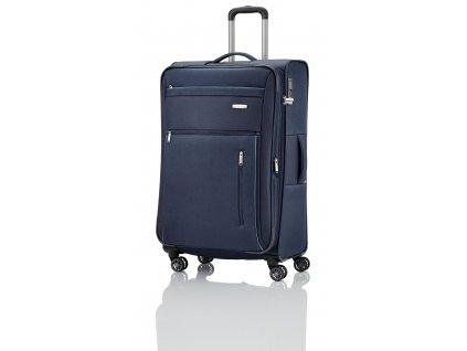 Travelite Capri 4w L Navy  + textilní rouška ke každé objednávce zdarma