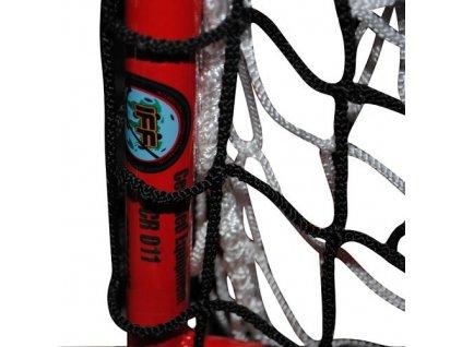 BRANKA 160x115 na florbal se sítí a záclonkou certifikovaná