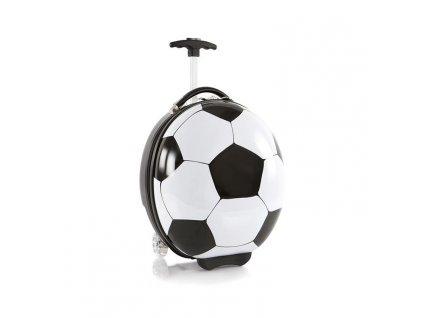Heys Kids Sports Luggage Soccer Ball  dětský skořepinový kufr na kolečkách + textilní rouška ke každé objednávce zdarma