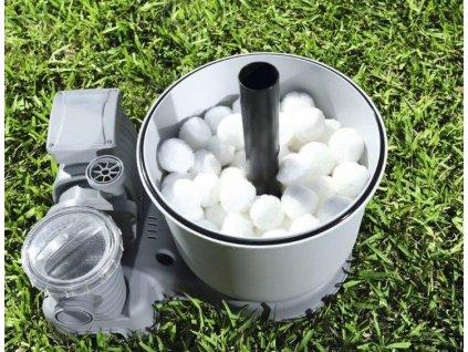 Filtrační kuličky PES AQUA CRYSTAL 1 kg  + dvouvrstvá rouška zdarma ke každé objednávce