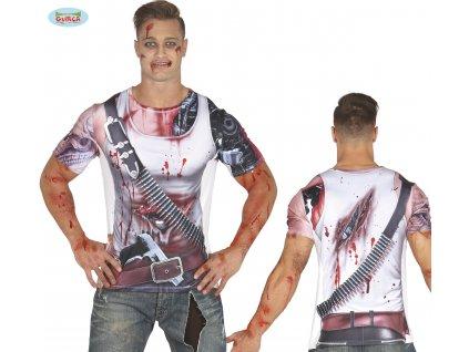 Droid T-SHIRT pánské triko  pánské horrorové triko vhodné nejen na Halloween