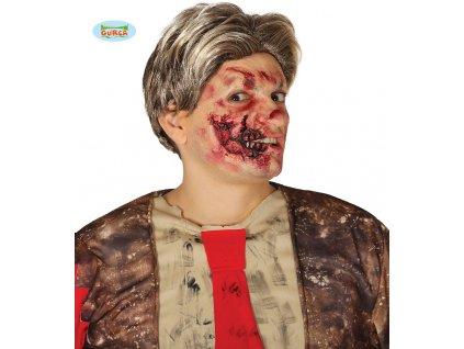 Zjizvená tvář  Halloween
