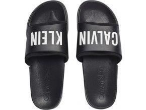 Calvin Klein Pantofle Black&White XXL