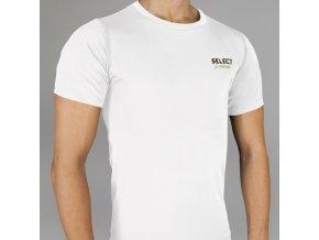 Kompresní triko Select Compression T-shirt S/S 6900 bílá