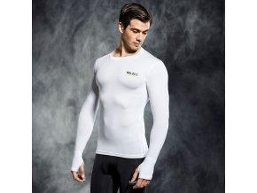 Select Compression T-shirt L/S 6902 bílá