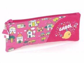 213308 Dětská etue plochá pouzdro na psací kreslící potřeby od španělské firmy Gabol