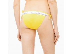 b7c1fcc379 Calvin Klein Plavky CK Logo Yellow Spodní Díl L