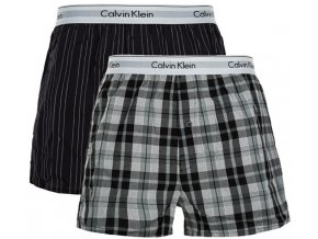Calvin Klein 2Pack Trenky Vzorované S