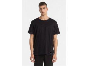Calvin Klein Pánské Tričko All Black S