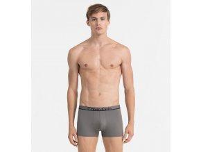 Calvin Klein Boxerky Microfiber ID Grey LR XL