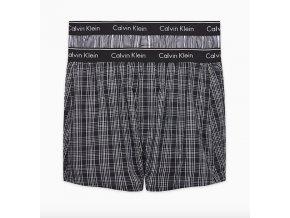 Calvin Klein 2Pack Trenky Slim Fit Černé XL