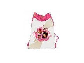 Dívčí vak HIGH SCHOOL MUSICAL taška na přezůvky HSM