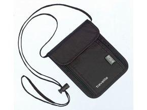 Travelite Neck pouch RFID Black