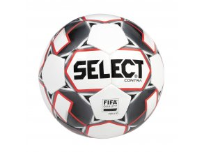 Select Fotbalový míč FB Contra FIFA bílo červená