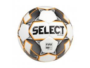 Select Fotbalový míč FB Super bílo šedá