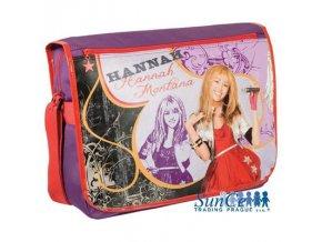 Taška přes rameno s kapsou na notebook laptop Disney S-5811 > varianta Hannah Montana HT